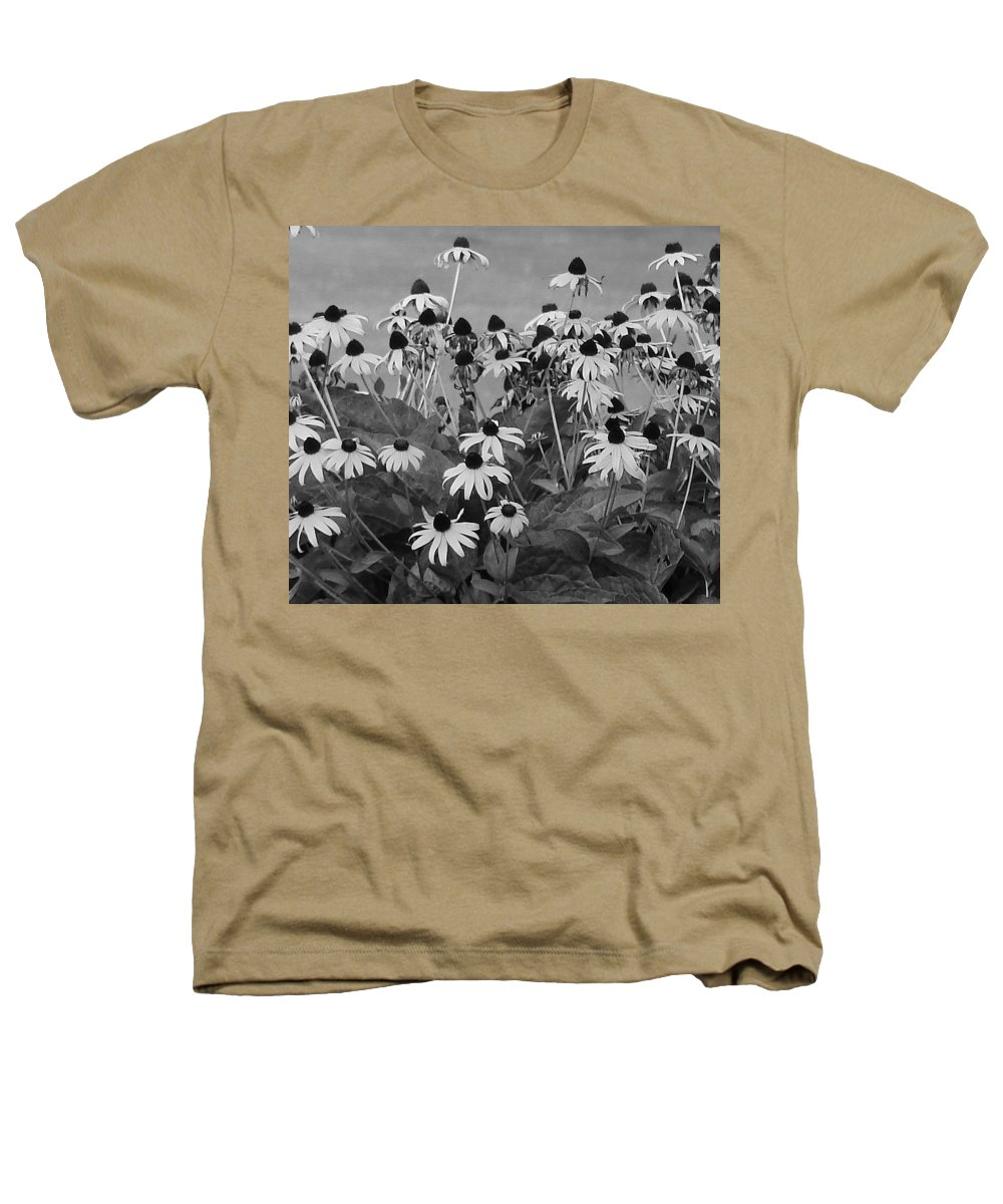 Heathers T-Shirt featuring the photograph Black And White Susans by Luciana Seymour