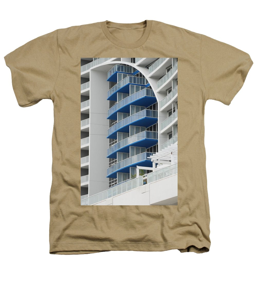 Architecture Heathers T-Shirt featuring the photograph Blue Bayu by Rob Hans