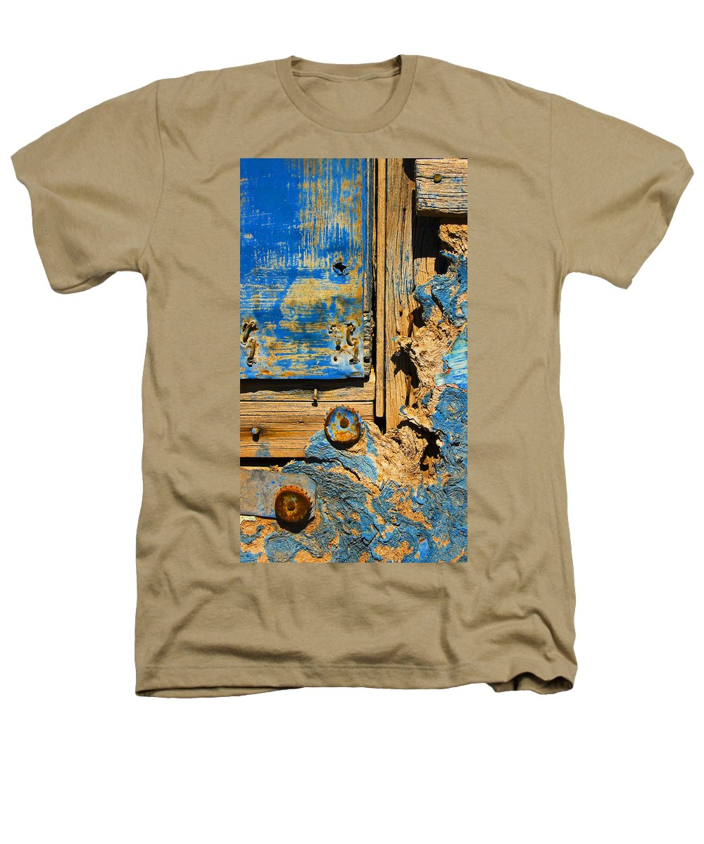Abstract Heathers T-Shirt featuring the photograph Blues Dues by Skip Hunt