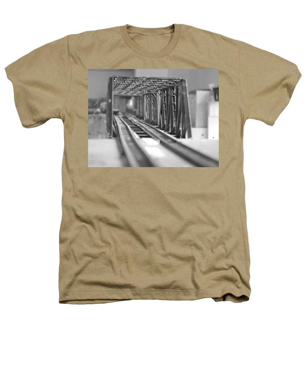 Models Heathers T-Shirt featuring the photograph Bridge To Jerry Town by Margaret Fortunato