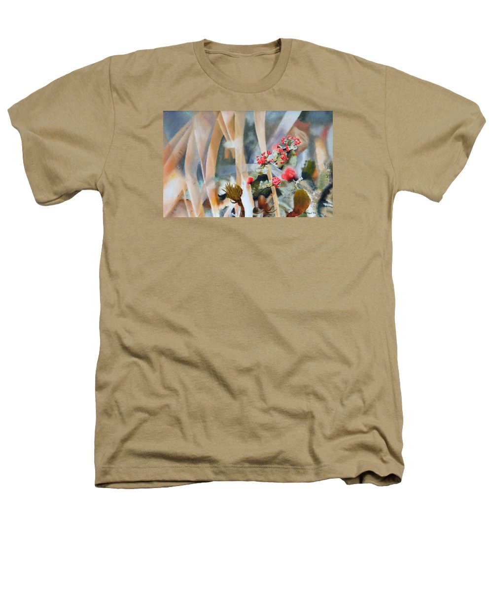 Nature Heathers T-Shirt featuring the painting British Soldiers by Dave Martsolf