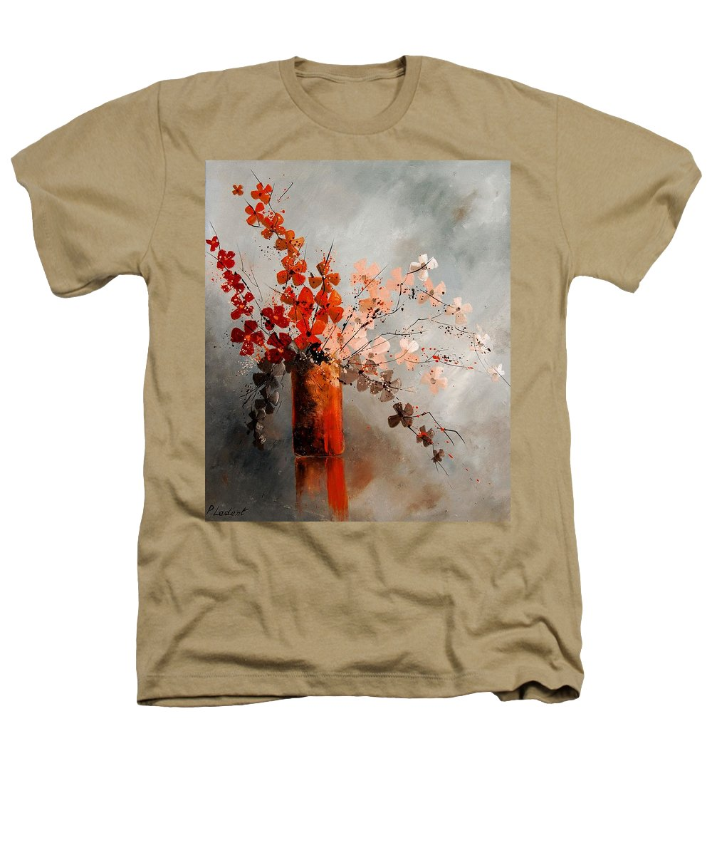 Flowers Heathers T-Shirt featuring the painting Bunch 670908 by Pol Ledent