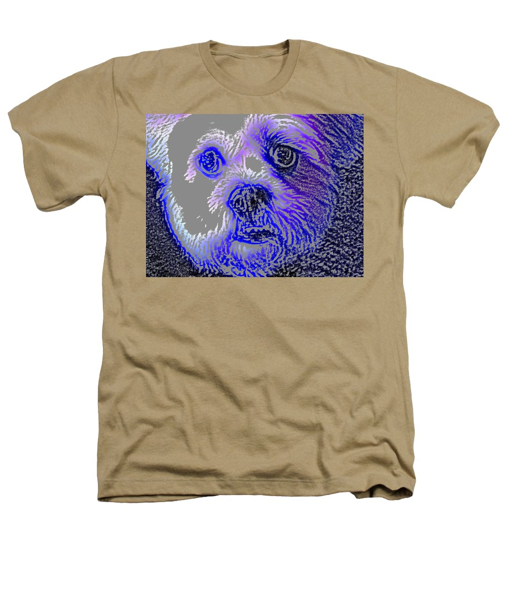 Dog Heathers T-Shirt featuring the photograph Buster Photo by Wayne Potrafka