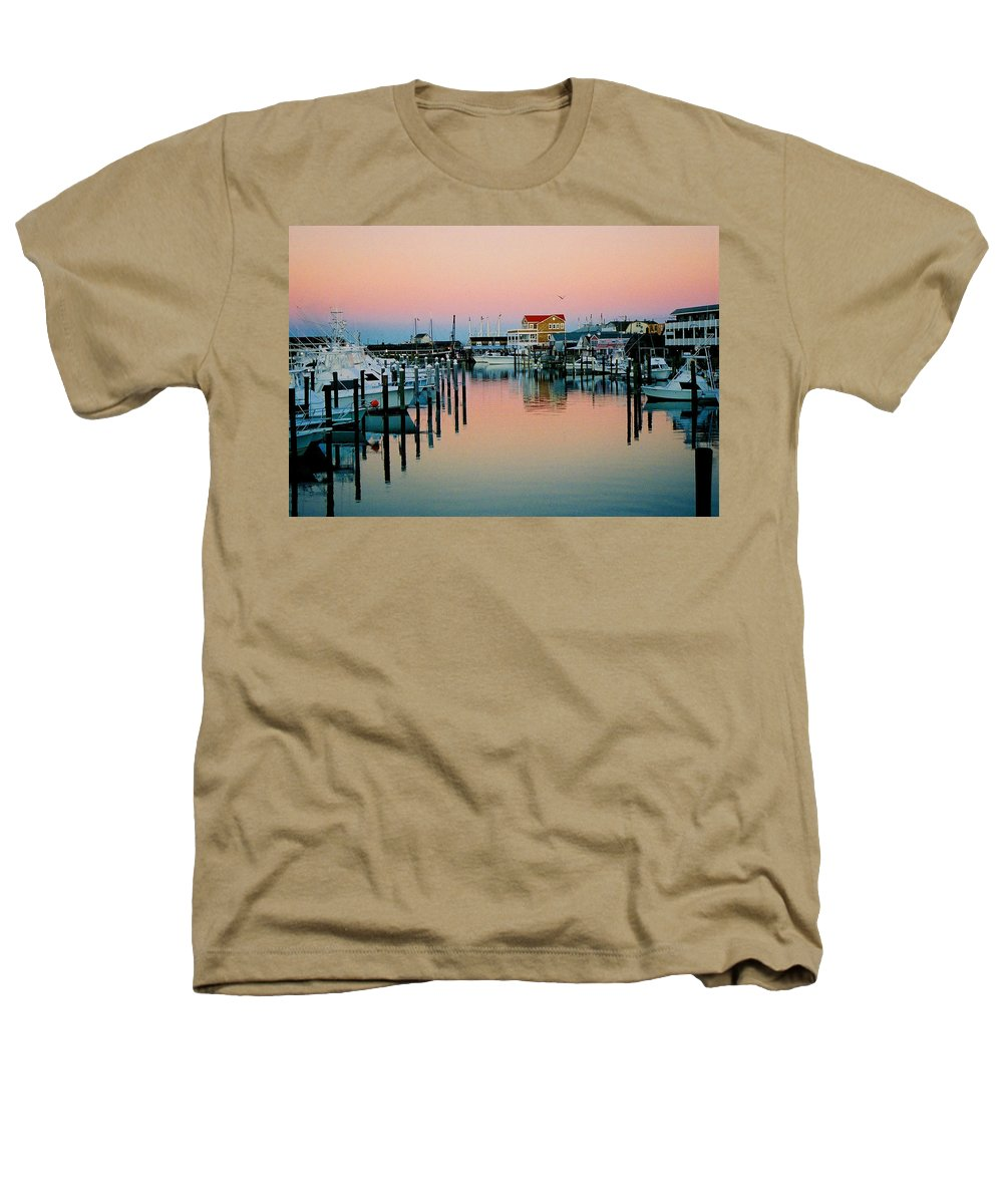 Cape May Heathers T-Shirt featuring the photograph Cape May After Glow by Steve Karol