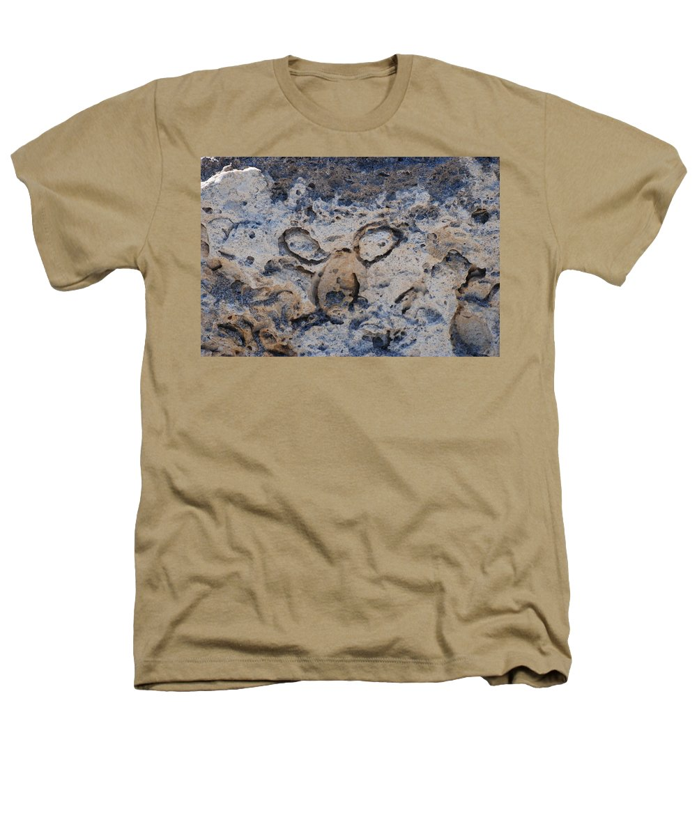 Ocean Heathers T-Shirt featuring the photograph Carved Catface by Rob Hans