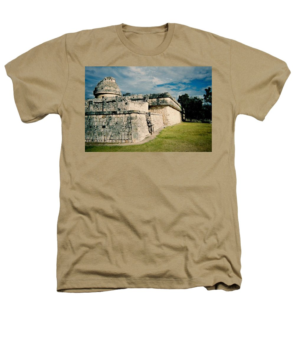Chitchen Itza Heathers T-Shirt featuring the photograph Chichen Itza 1 by Anita Burgermeister