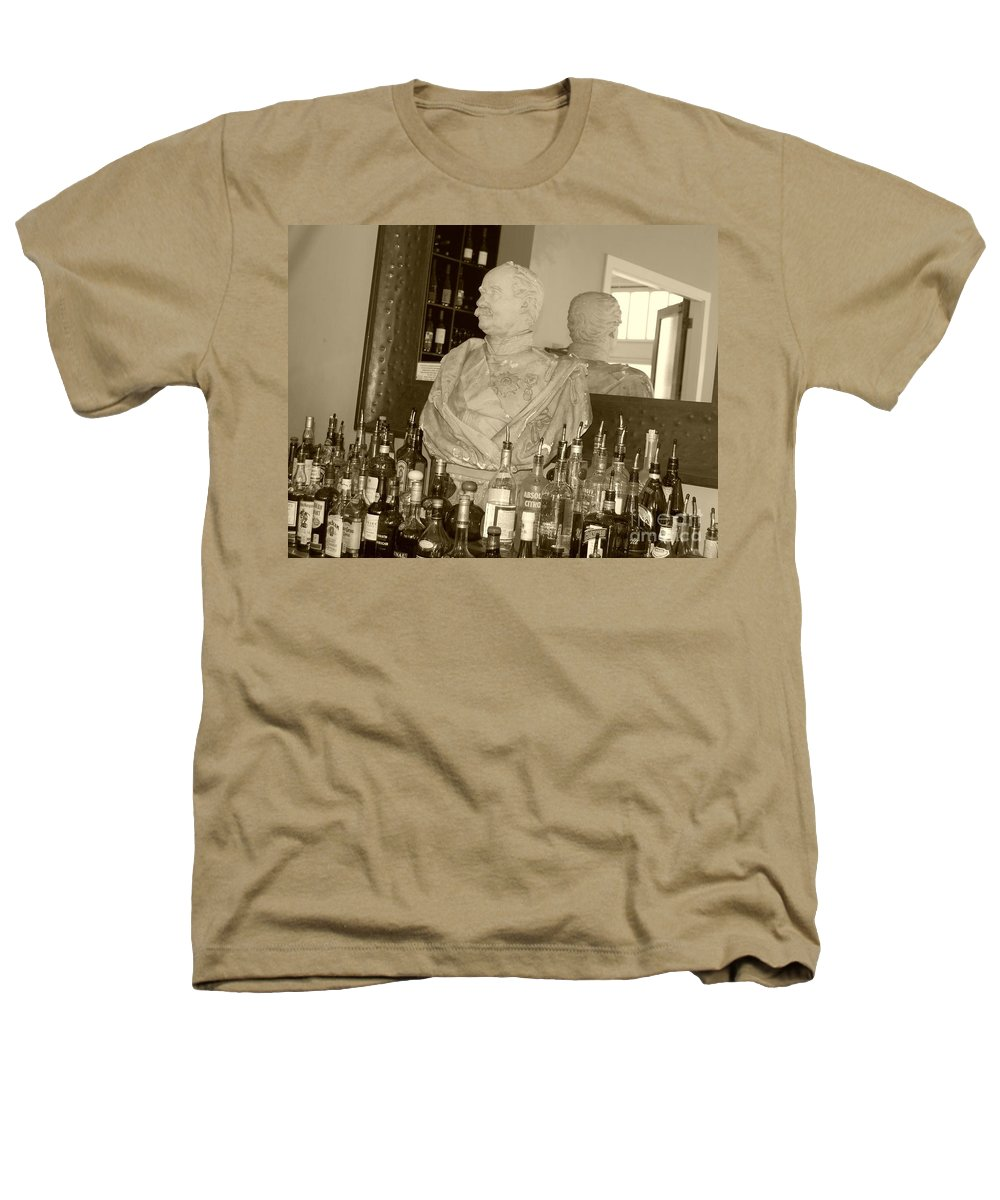 Bust Heathers T-Shirt featuring the photograph Chipped Reflection by Debbi Granruth