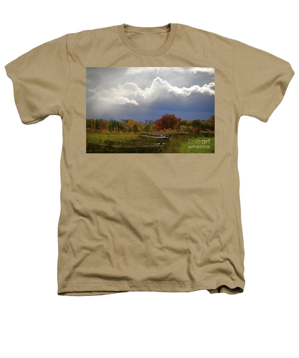 Landscape Heathers T-Shirt featuring the photograph Cold Front by Robert Pearson