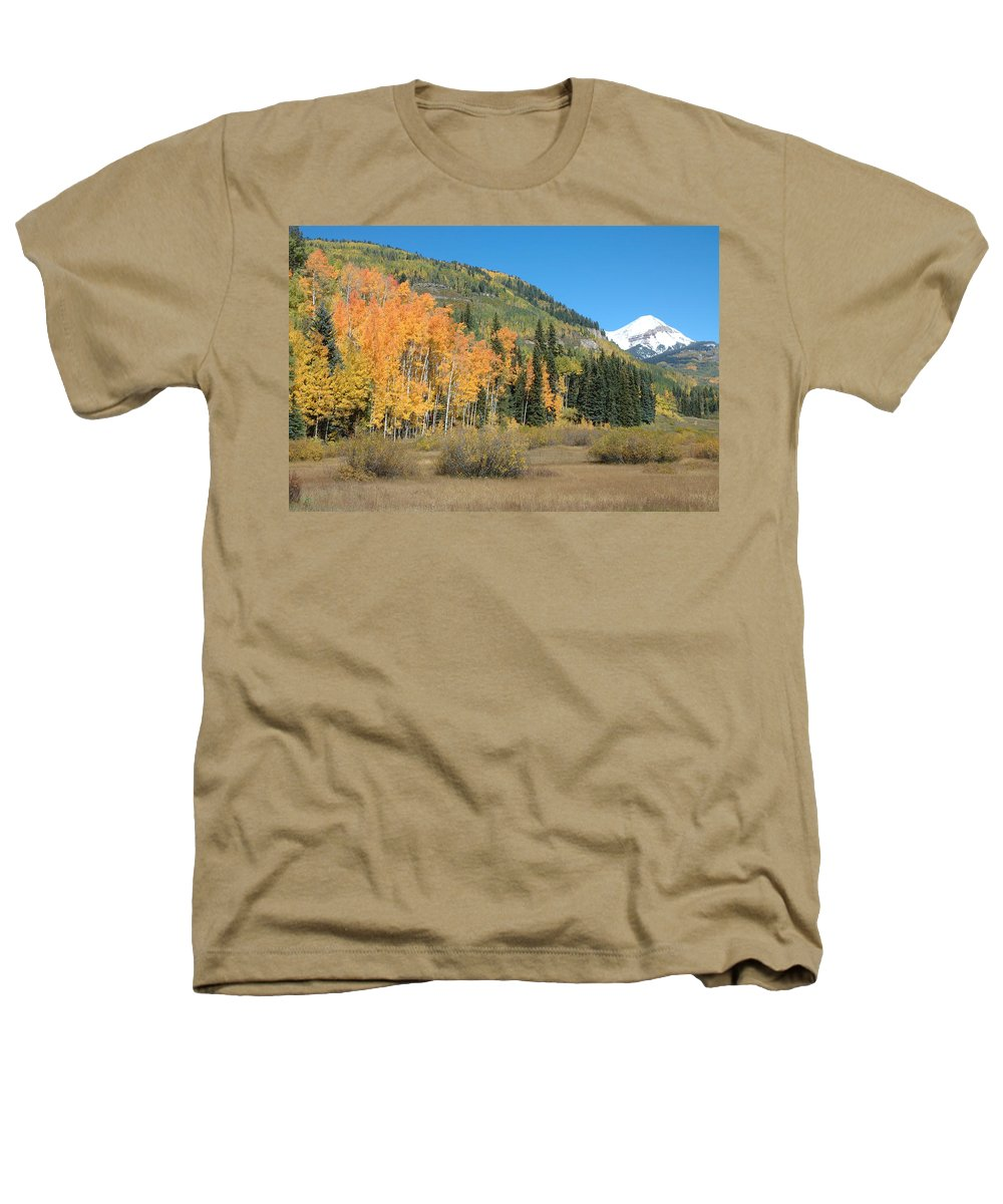 Aspen Heathers T-Shirt featuring the photograph Colorado Gold by Jerry McElroy