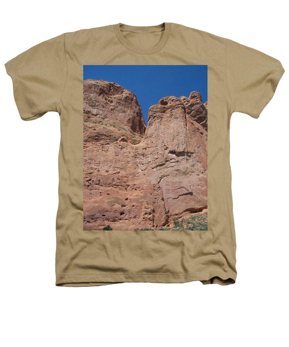 Colorado Heathers T-Shirt featuring the photograph Colorado Redrock by Anita Burgermeister