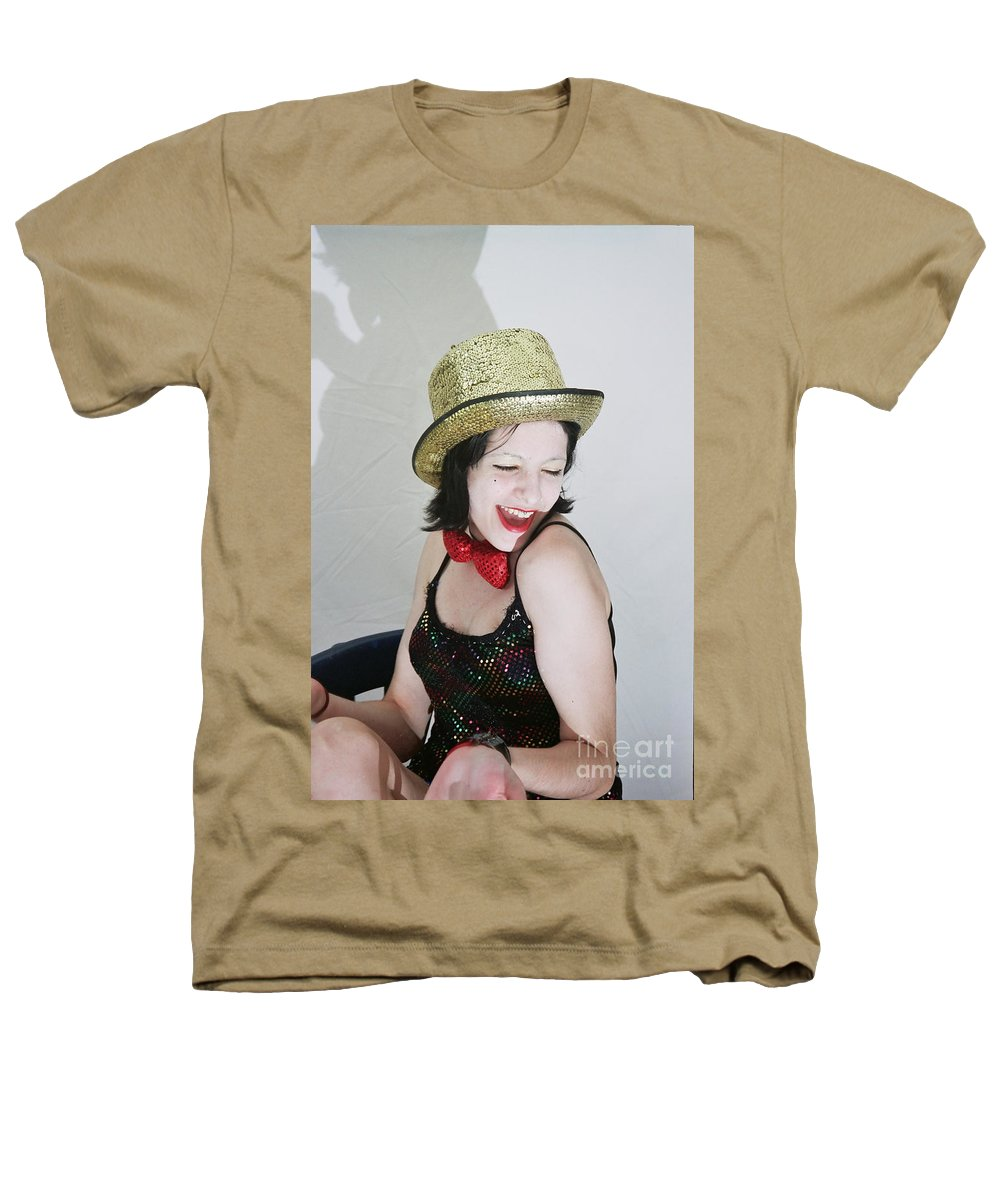 Columbia Heathers T-Shirt featuring the photograph Columbia During A Rhps Performance by Ilan Rosen