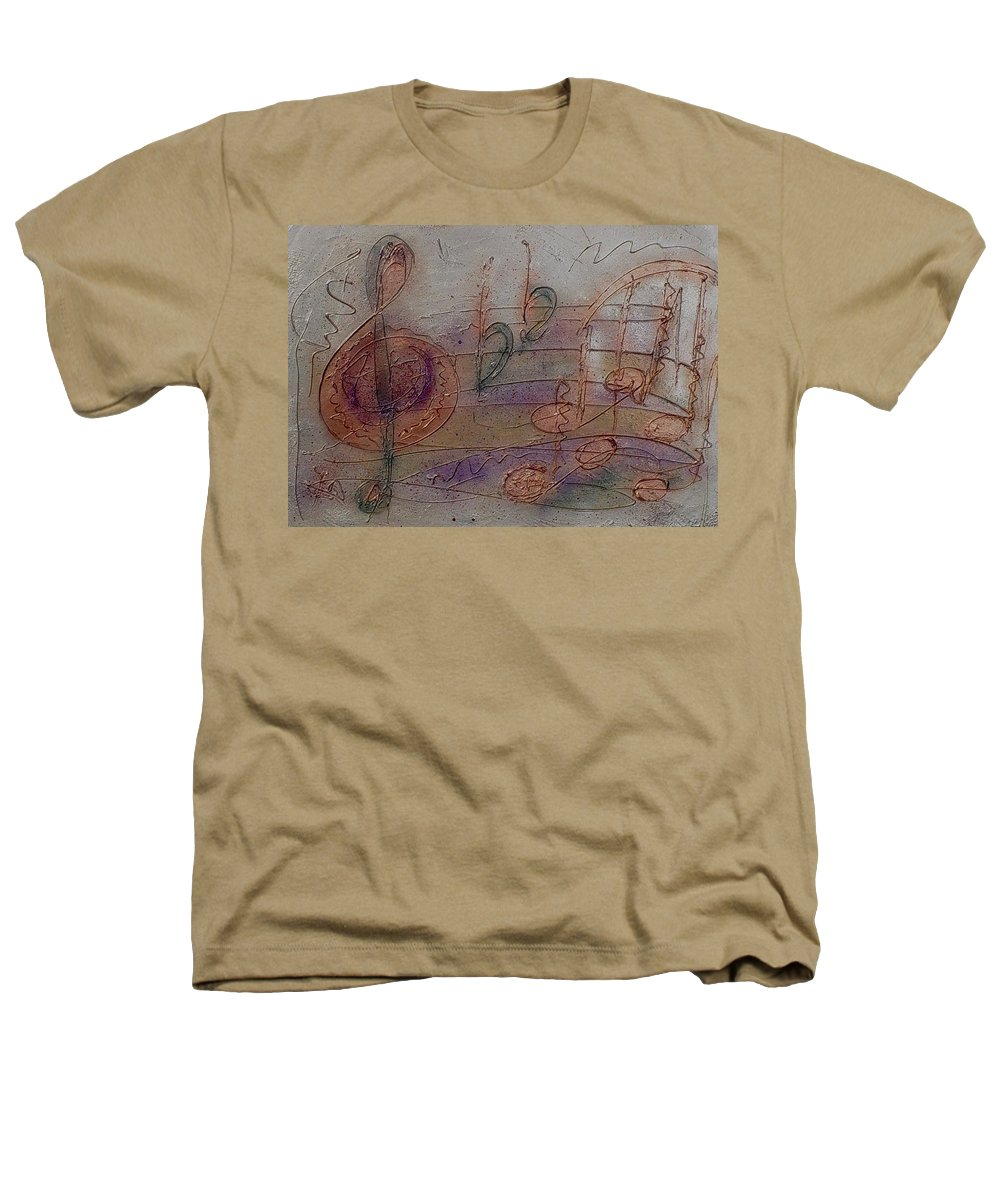Impressionist Heathers T-Shirt featuring the painting Composition In B Flat by Anita Burgermeister