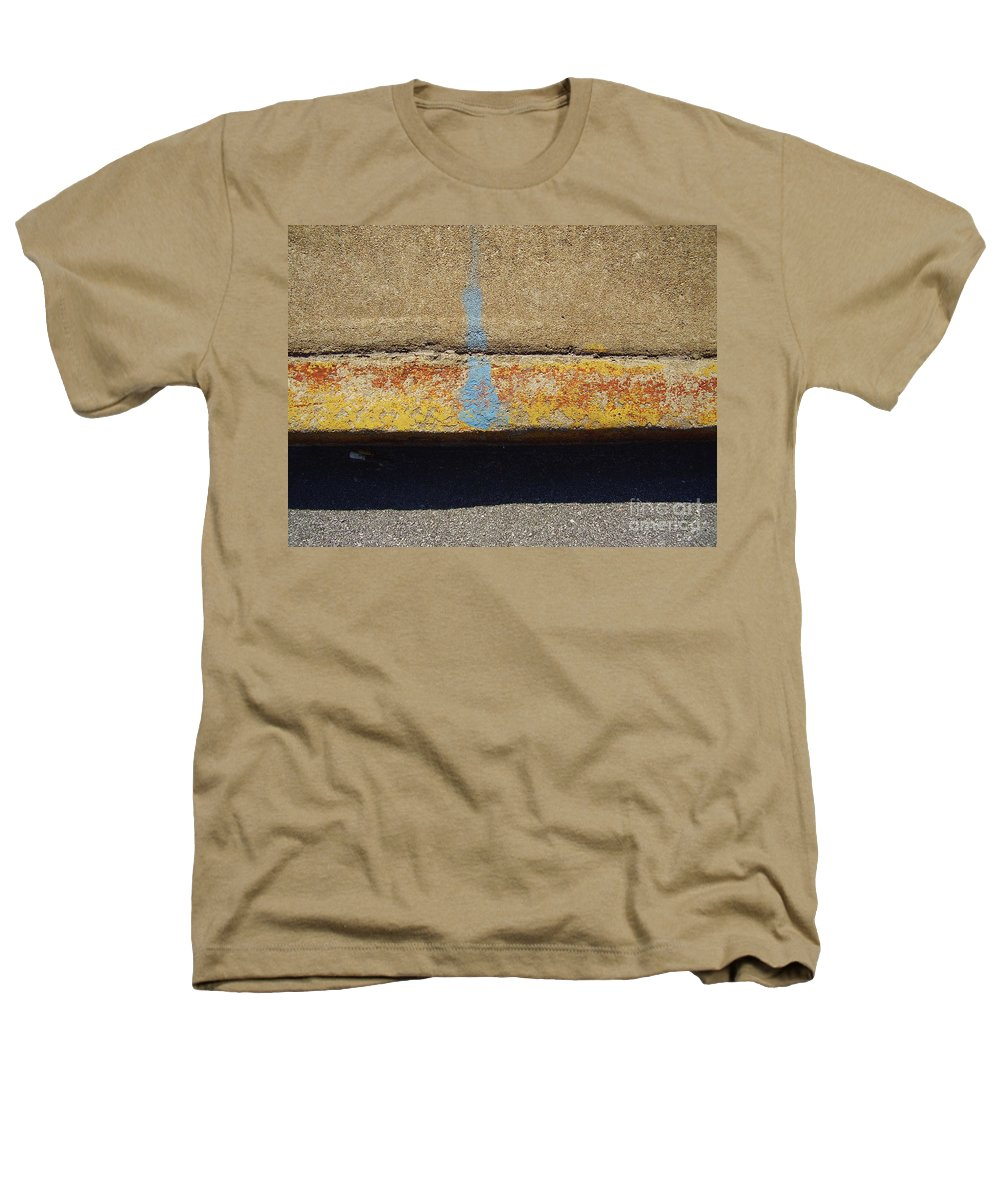 Abstract Heathers T-Shirt featuring the photograph Curb by Flavia Westerwelle