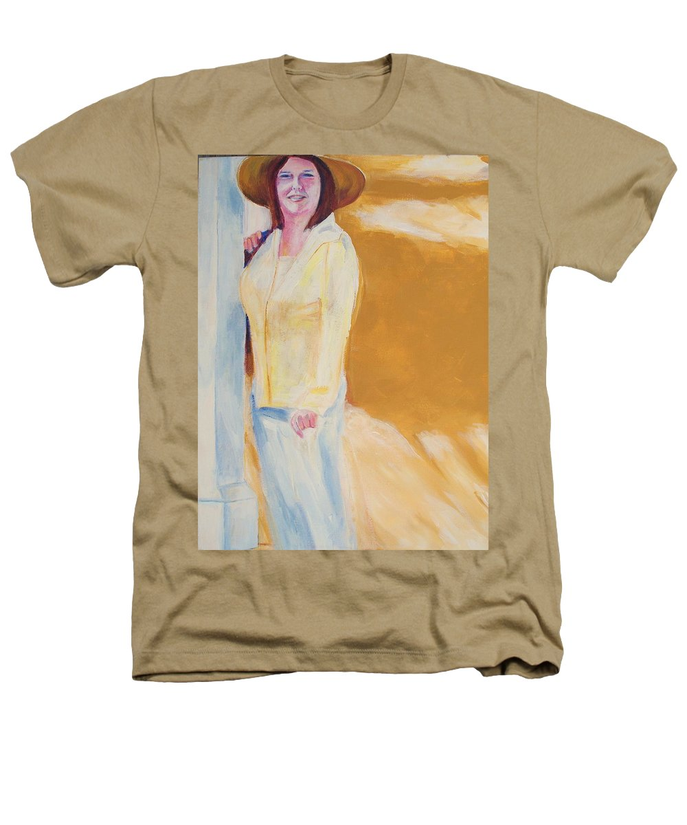Portraits Heathers T-Shirt featuring the painting Diane by Eric Schiabor