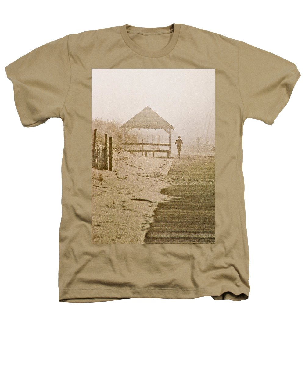 Landscape Heathers T-Shirt featuring the photograph Disappearance by Steve Karol