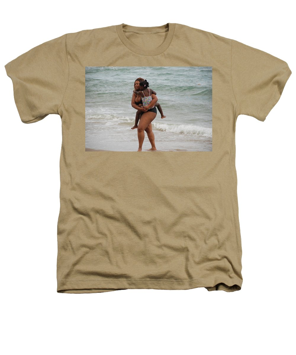 Sea Scape Heathers T-Shirt featuring the photograph Done For The Day by Rob Hans