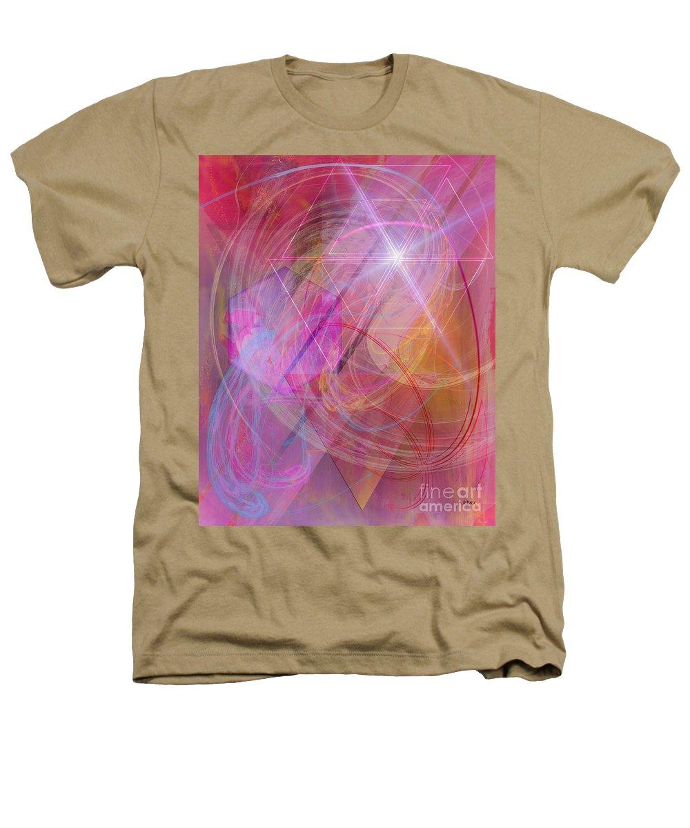 Dragon's Gem Heathers T-Shirt featuring the digital art Dragon's Gem by John Beck