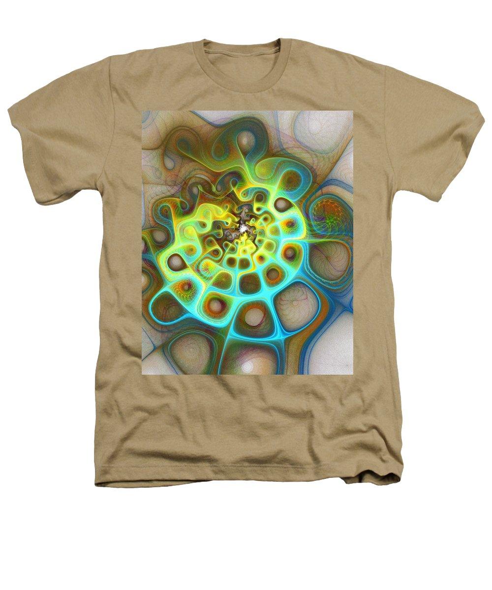 Digital Art Heathers T-Shirt featuring the digital art Dreamscapes by Amanda Moore