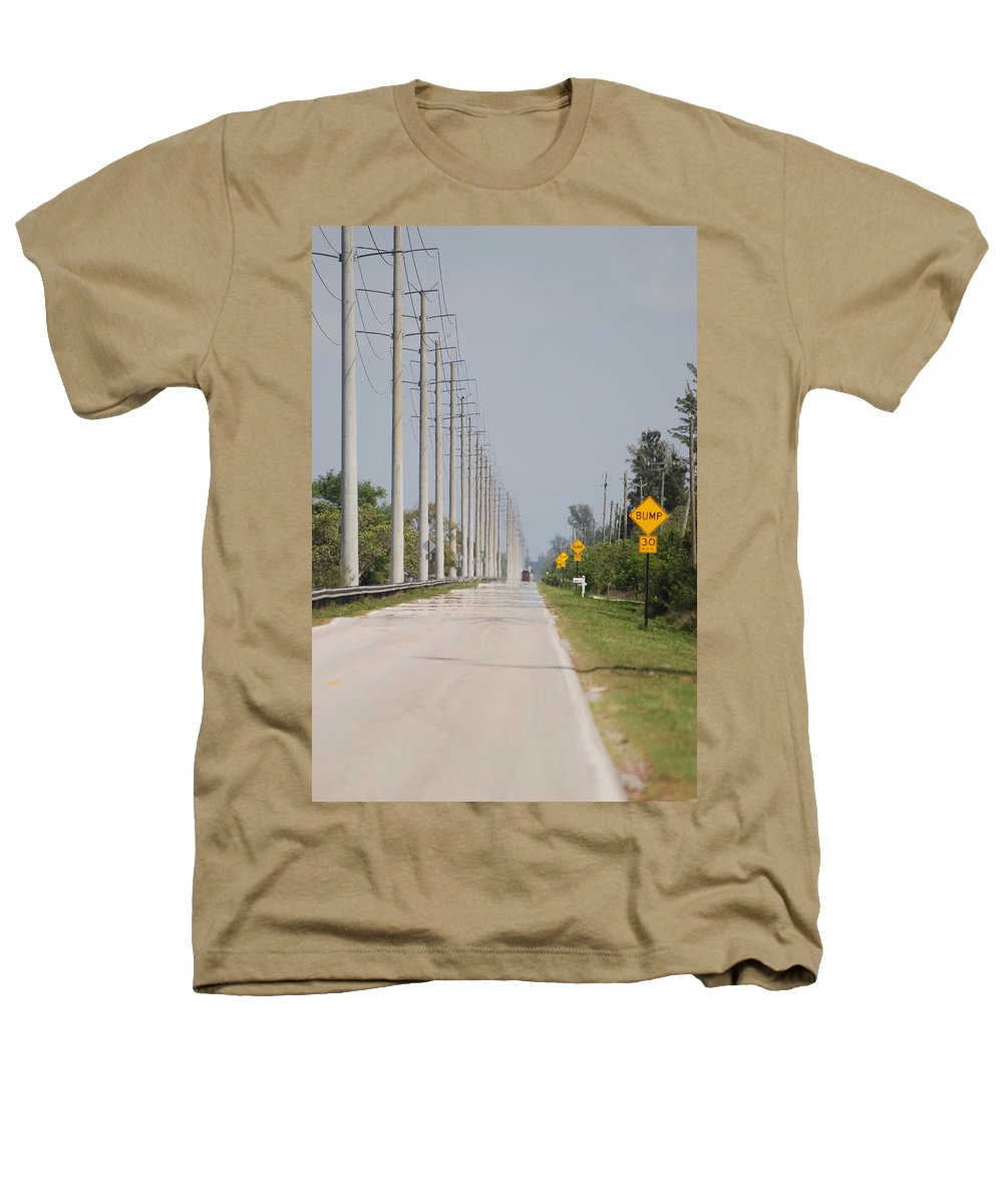 Trees Heathers T-Shirt featuring the photograph East Bound And Down by Rob Hans