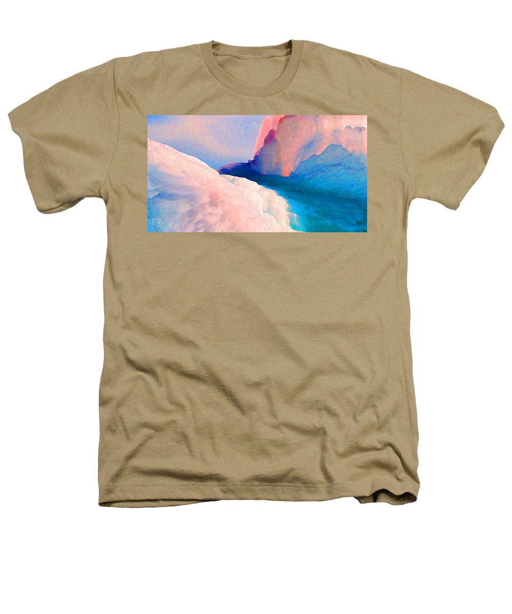Abstract Heathers T-Shirt featuring the photograph Ebb And Flow by Steve Karol