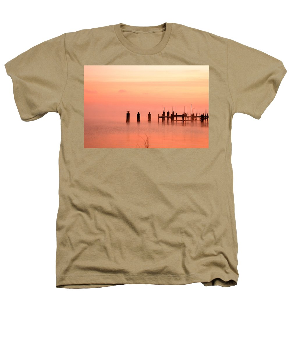 Clay Heathers T-Shirt featuring the photograph Eery Morn by Clayton Bruster