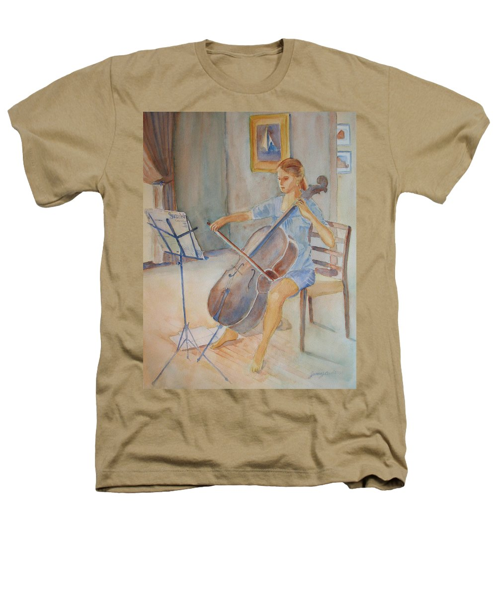 Girls Heathers T-Shirt featuring the painting Emma And Clifford by Jenny Armitage