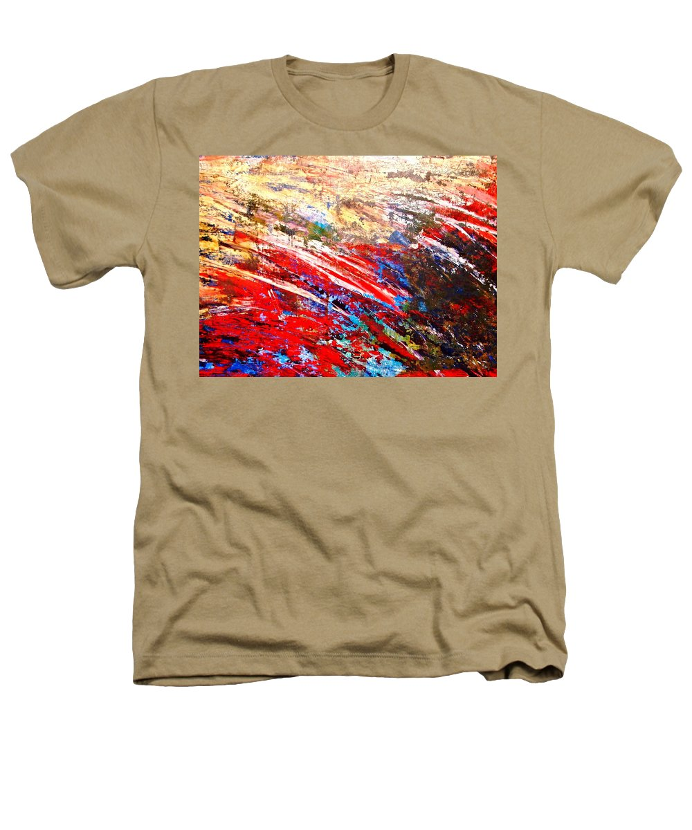 Expressionism Heathers T-Shirt featuring the painting Emotional Explosion by Natalie Holland
