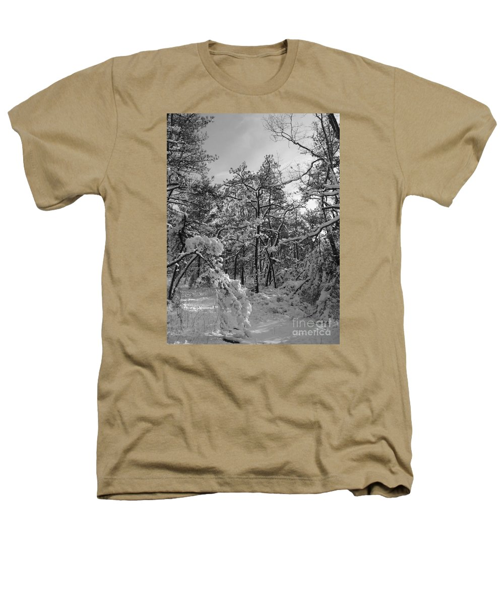 Black And White Heathers T-Shirt featuring the photograph Empty Travel by Chad Natti
