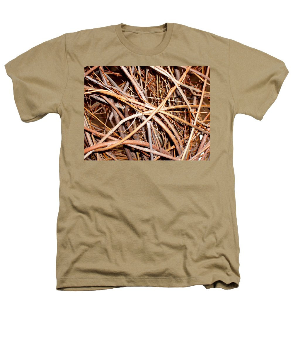 Vines Heathers T-Shirt featuring the photograph Entangled by Wayne Potrafka