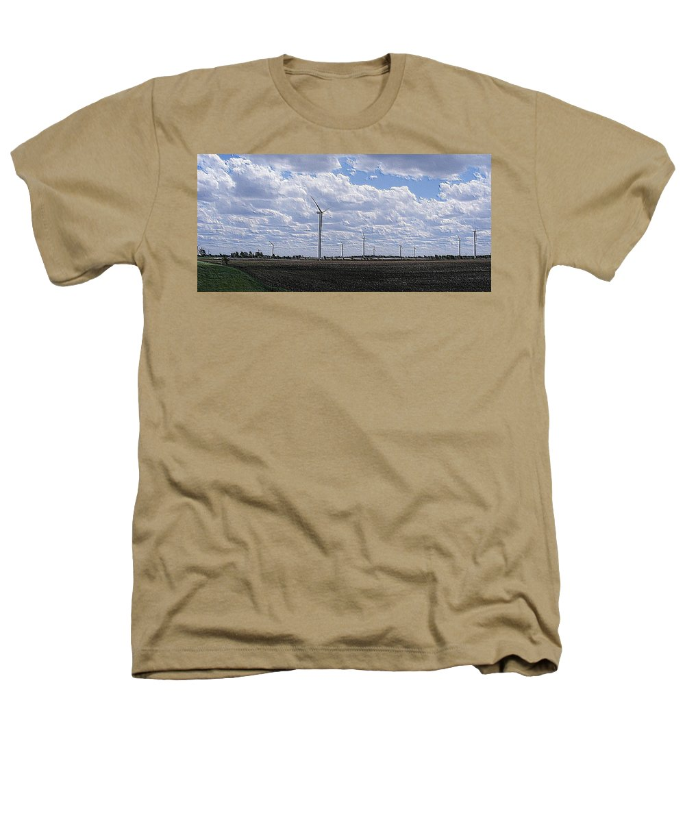 Wind Heathers T-Shirt featuring the photograph Etched In Stone by Ed Smith
