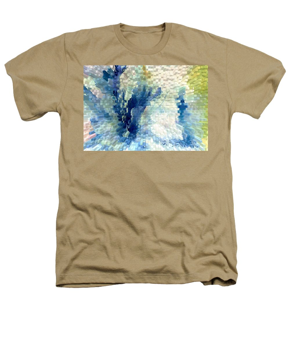 Abstract Heathers T-Shirt featuring the painting Extrude by Steve Karol
