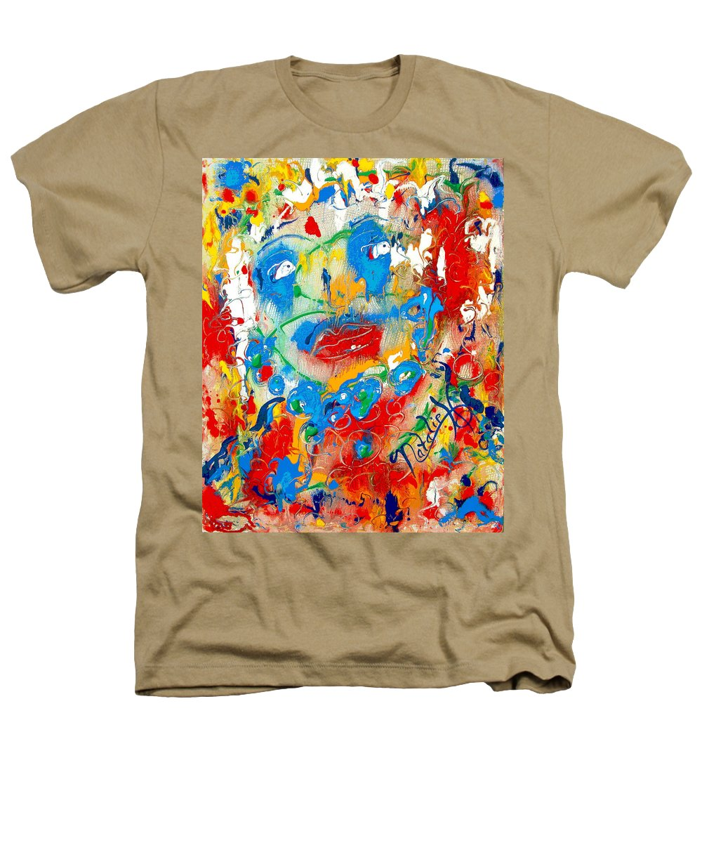 Woman Heathers T-Shirt featuring the painting Fantasia by Natalie Holland