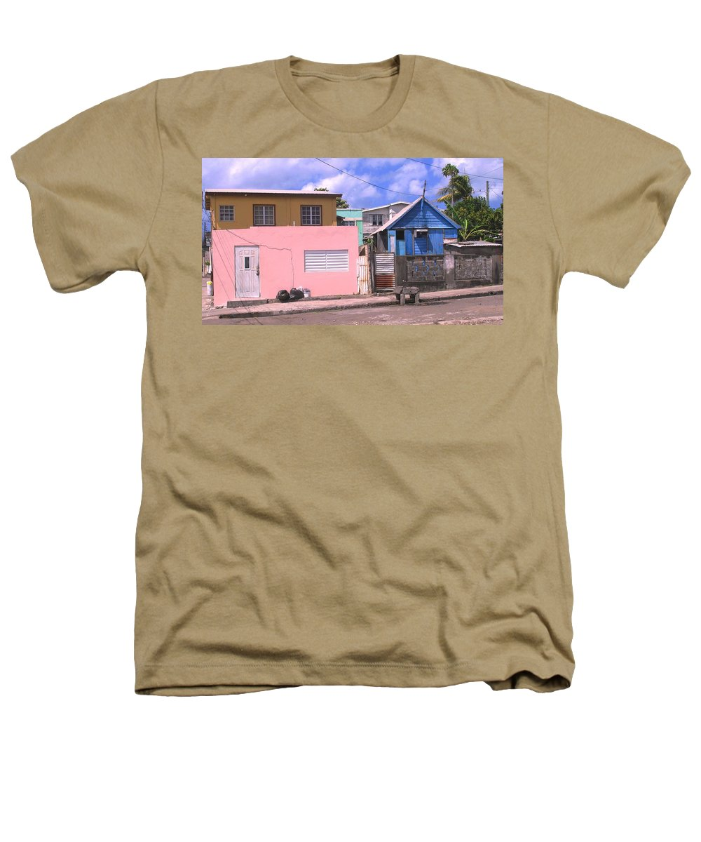 Basseterre Heathers T-Shirt featuring the photograph Far From Dull by Ian MacDonald