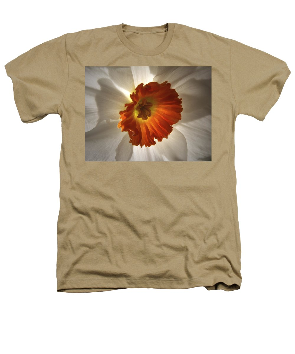 Flowers Heathers T-Shirt featuring the photograph Flower Narcissus by Nancy Griswold