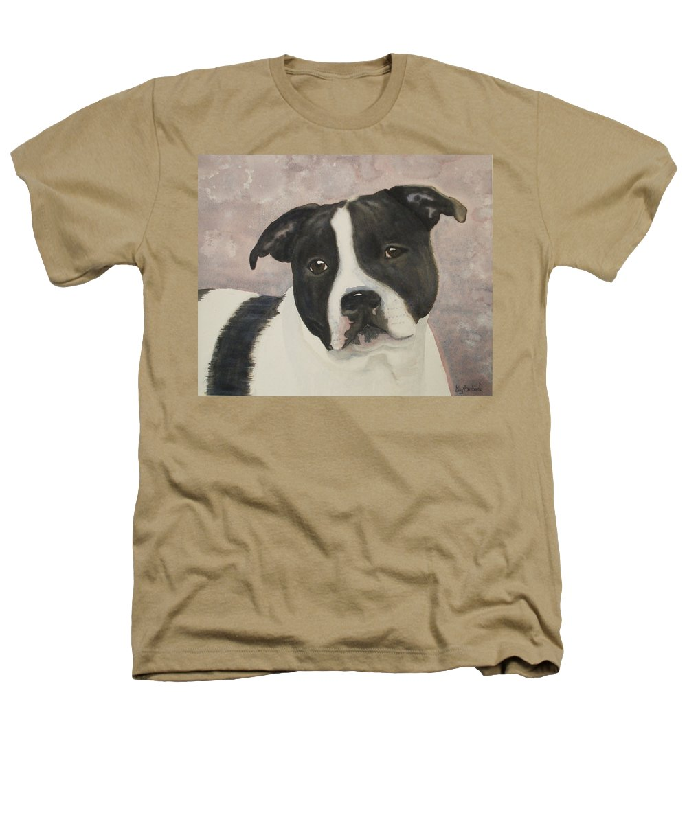 Dog Heathers T-Shirt featuring the painting For Me by Ally Benbrook