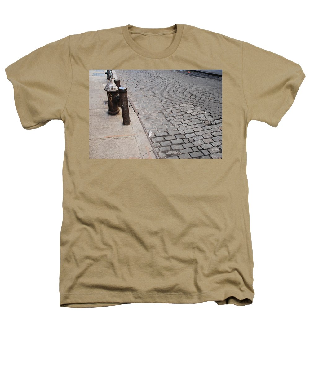 Architecture Heathers T-Shirt featuring the photograph Forgotten N Y by Rob Hans