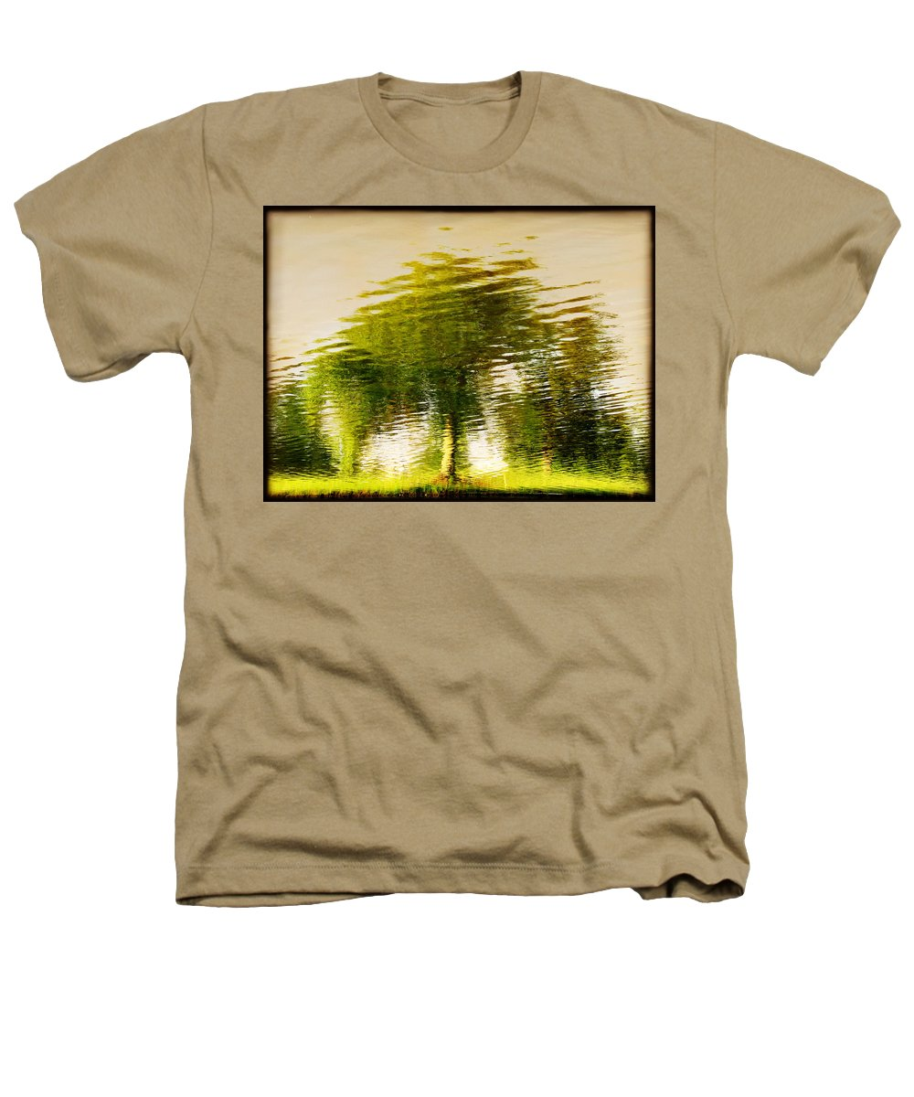 Abstract Heathers T-Shirt featuring the photograph Gentle Sun by Dana DiPasquale