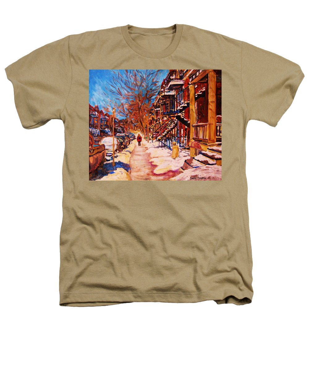 Children Heathers T-Shirt featuring the painting Girl In The Red Jacket by Carole Spandau