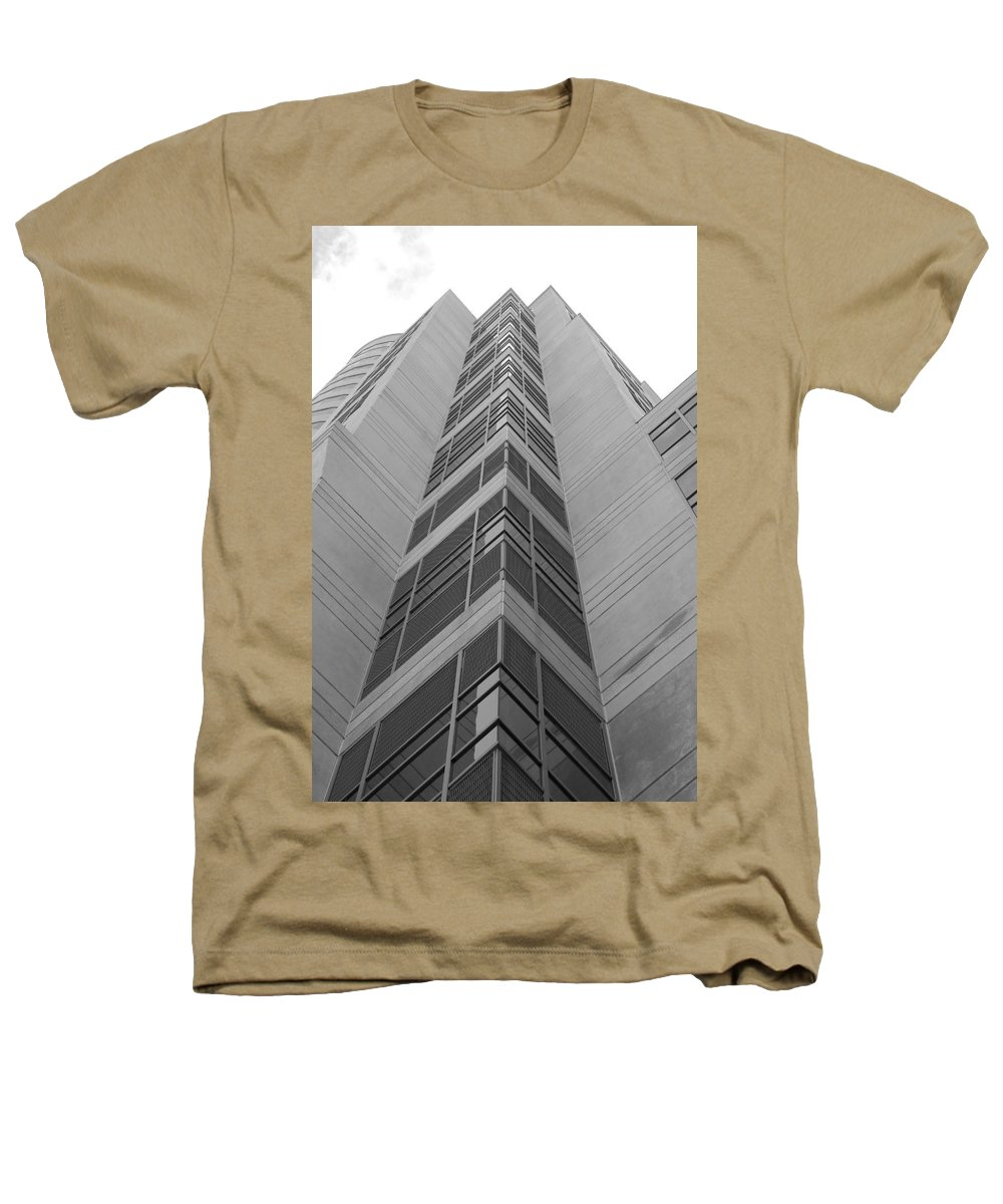 Architecture Heathers T-Shirt featuring the photograph Glass Tower by Rob Hans