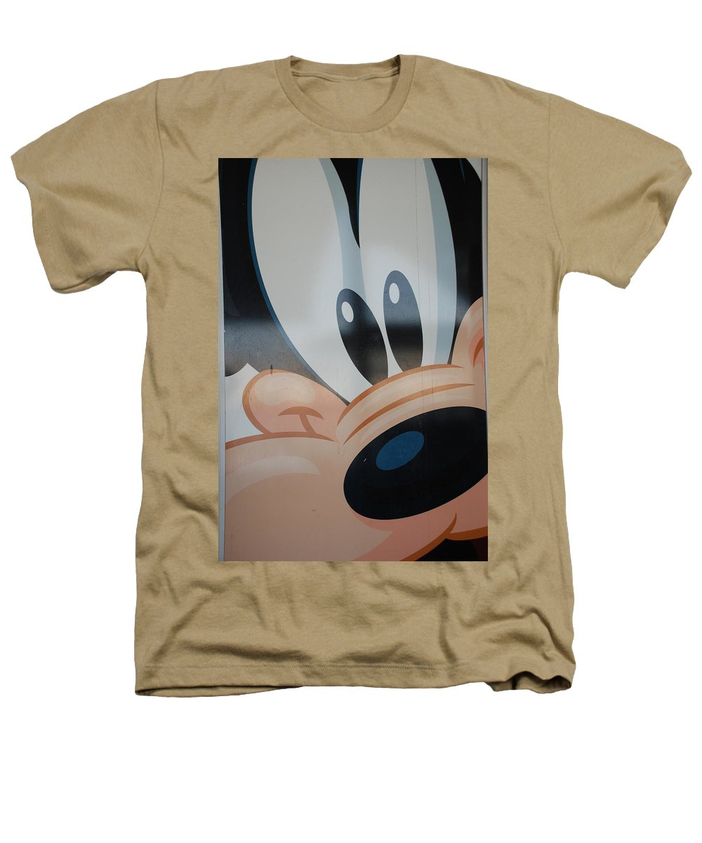 Disney Heathers T-Shirt featuring the photograph Goofy by Rob Hans