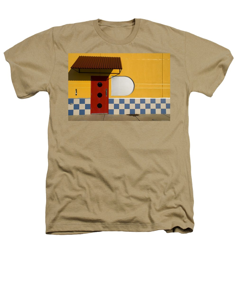 Architecture Heathers T-Shirt featuring the photograph Happy Days by Skip Hunt