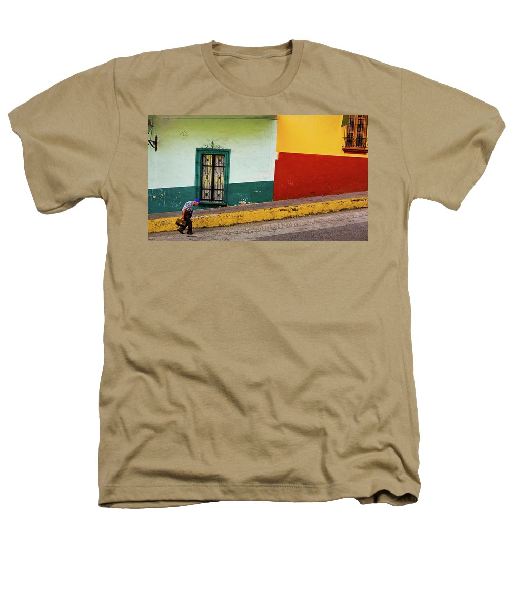 Man Heathers T-Shirt featuring the photograph Hard Knock Life by Skip Hunt