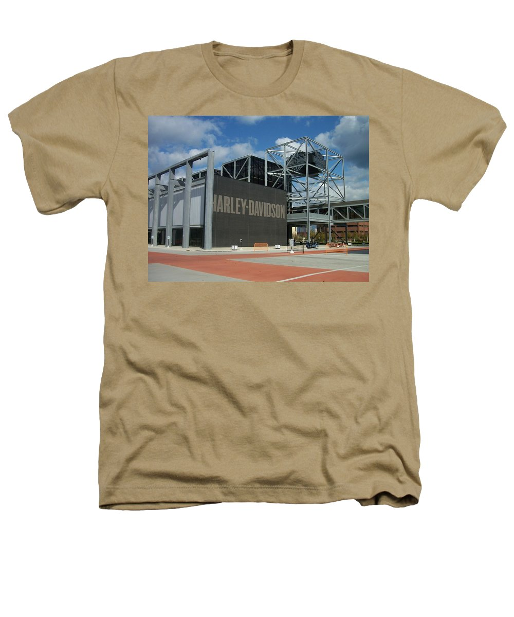 Heathers T-Shirt featuring the photograph Harley Museum by Anita Burgermeister