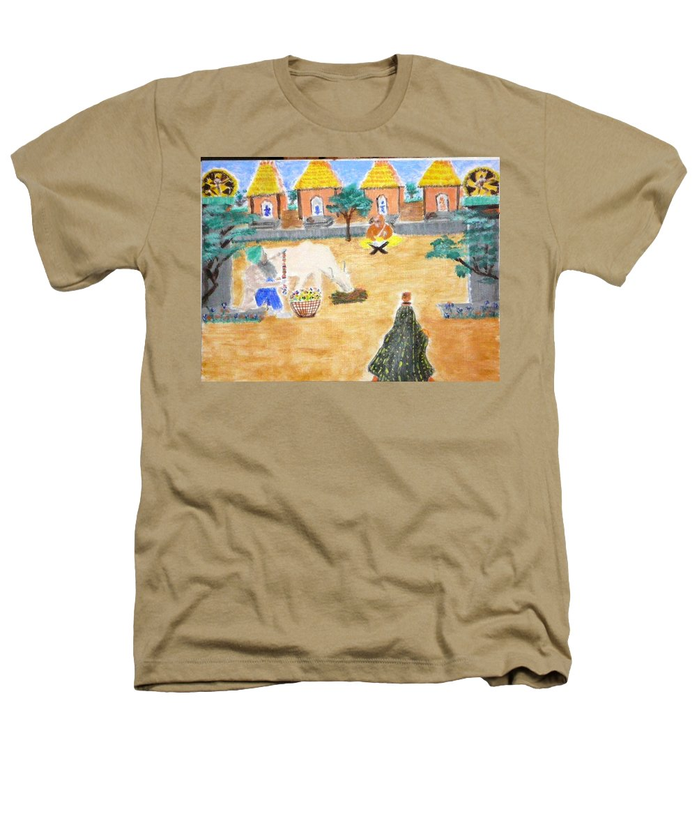 Heathers T-Shirt featuring the painting Harmony by R B