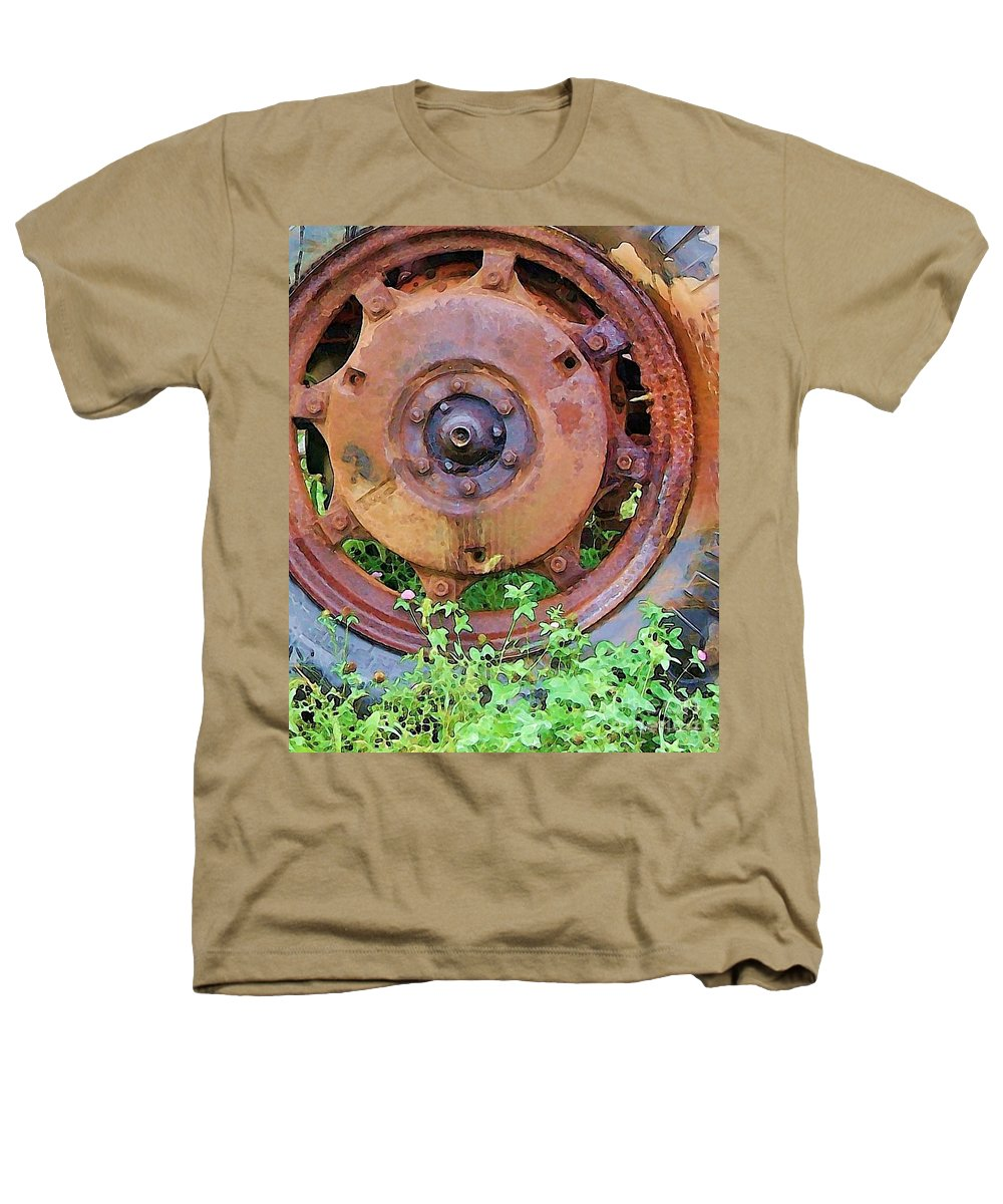 Rust Heathers T-Shirt featuring the photograph Heavy Metal by Debbi Granruth
