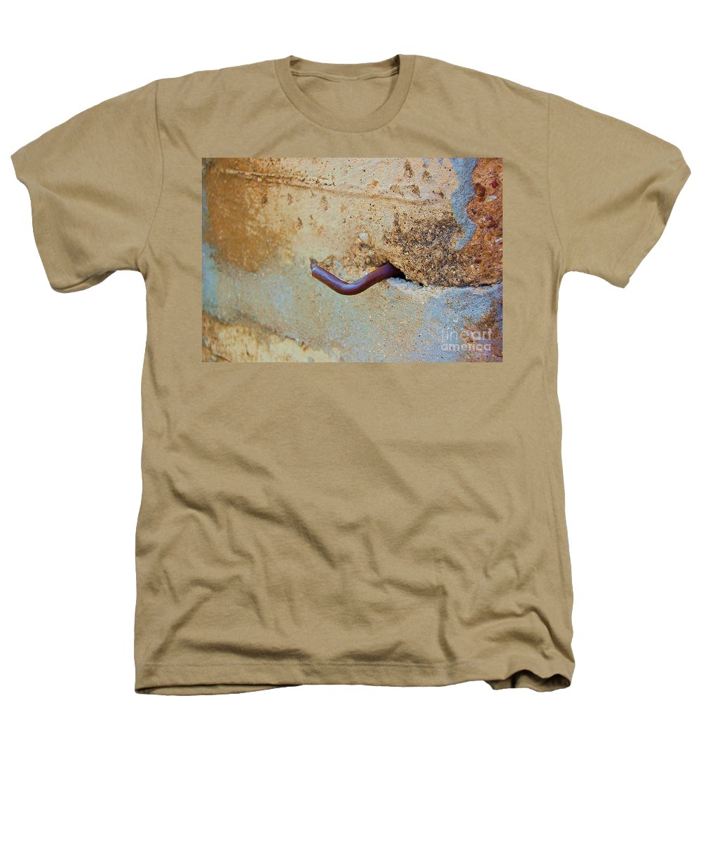Metal Heathers T-Shirt featuring the photograph Hook by Debbi Granruth