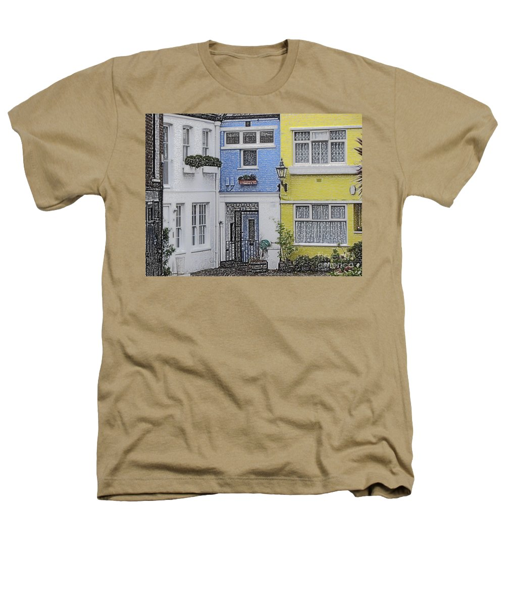 House Heathers T-Shirt featuring the photograph Houses by Amanda Barcon
