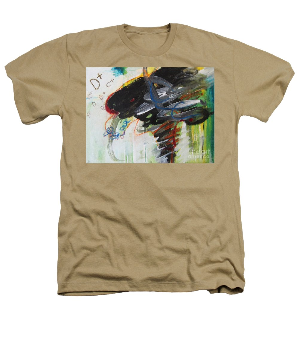Abstract Paintings Paintings Abstract Art Paintings Heathers T-Shirt featuring the painting I Got D by Seon-Jeong Kim