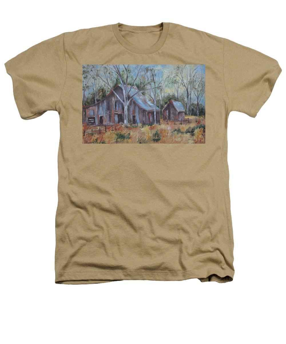 Barns Heathers T-Shirt featuring the painting If They Could Speak by Ginger Concepcion