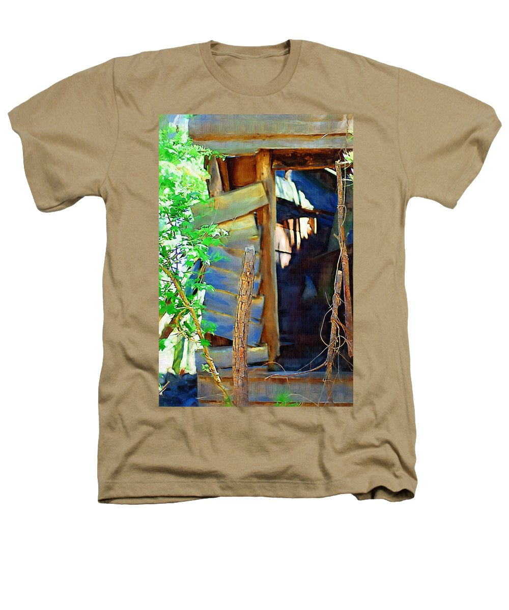 House Heathers T-Shirt featuring the photograph In Shambles by Donna Bentley
